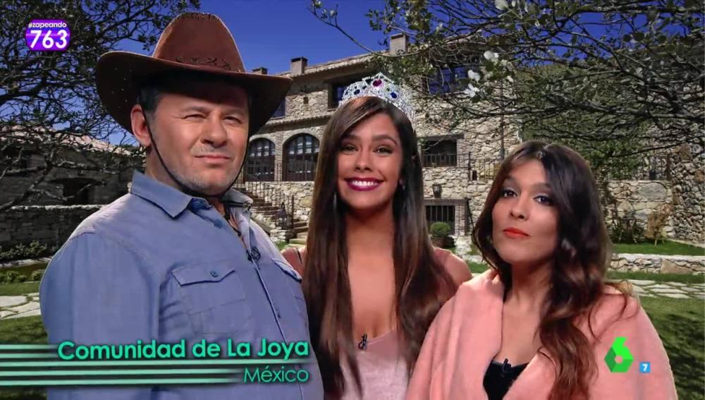 La 'familia' de Rubí, la niña mexicana