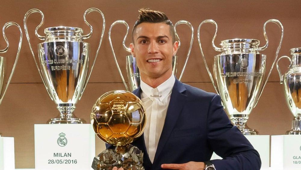 Cristiano Ronaldo, con su cuarto Balón de Oro