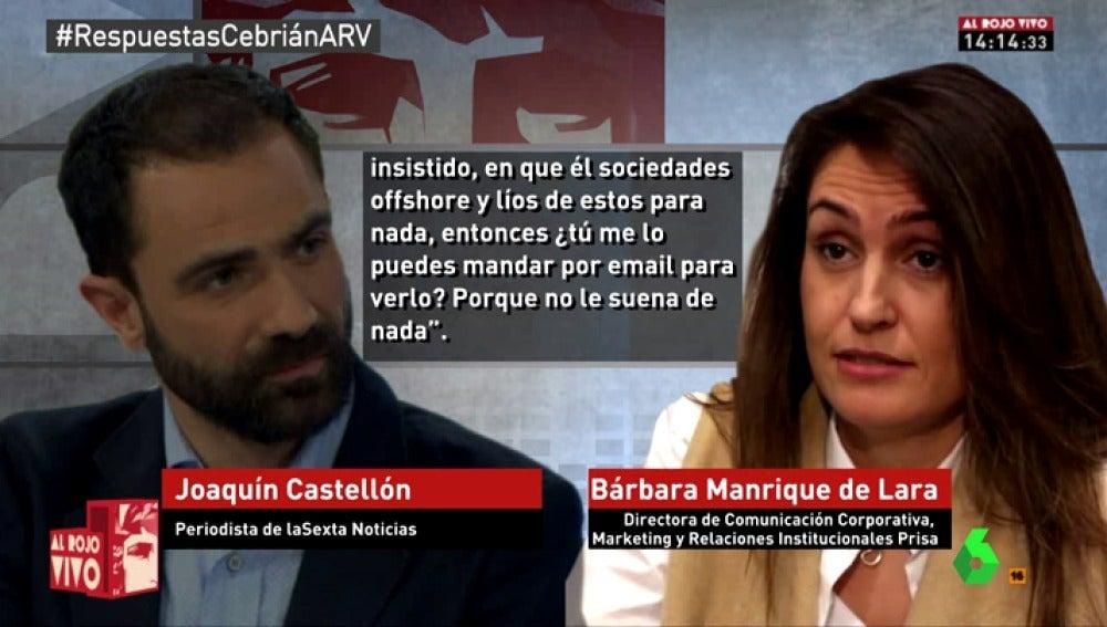 Frame 198.009837 de: La llamada que demuestra que laSexta intentó contactar con Juan Luis Cebrián en varias ocasiones