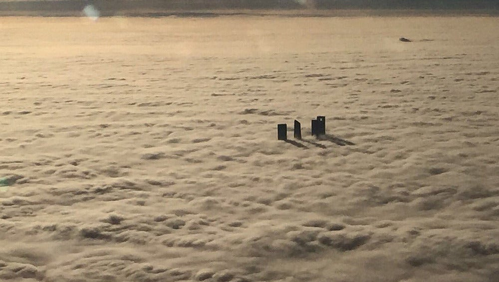 Madrid bajo la niebla