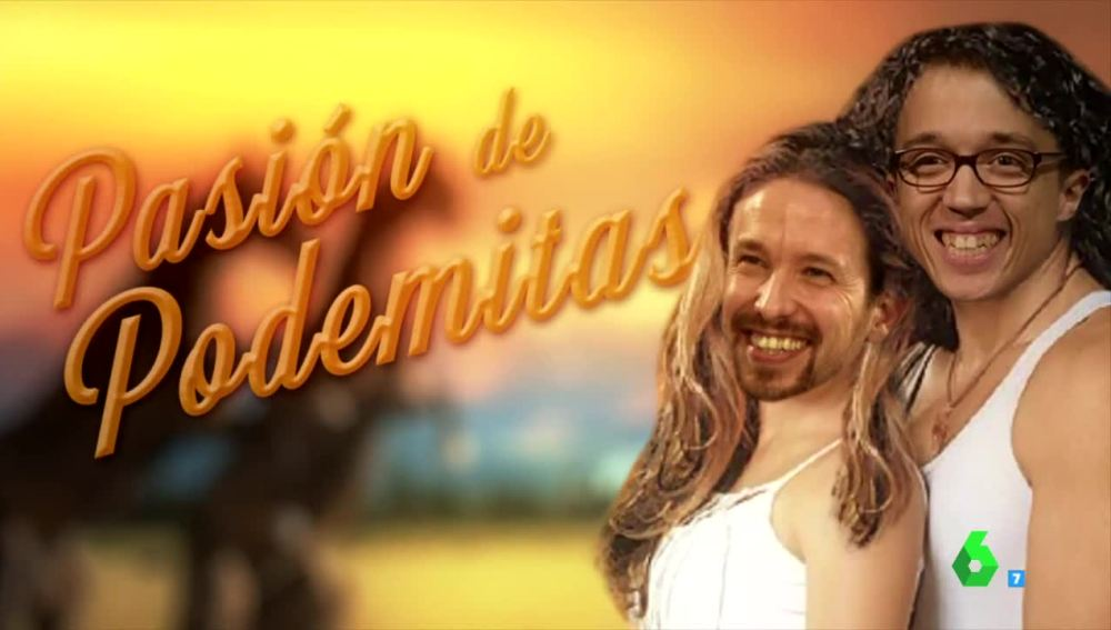 Íñigo Errejón y Pablo Iglesias protagonizan Pasión de Podemitas