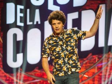 Xosé Touriñán en El Club de la Comedia