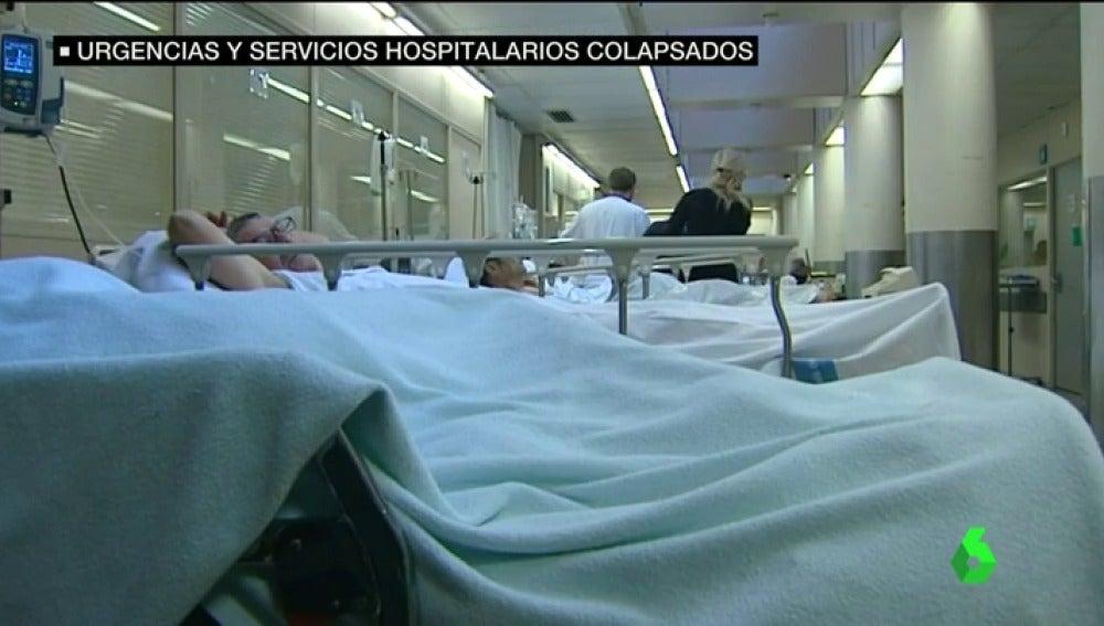 Frame 63.440462 de: Doblando turnos, sin cubrir las bajas de menos de un mes y con la UCI pediátrica colapsada, así está el Hospital de La Paz en Madrid