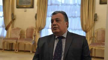 El embajador de Rusia asesinado en Ankara