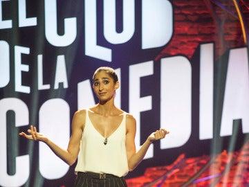 Alba Flores en El Club de la Comedia