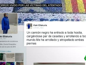 """Frame 18.041341 de: Un español, entre los heridos por el atropello de un camión en Berlín: """"Sólo me he roto tibia, peroné y cadera"""""""