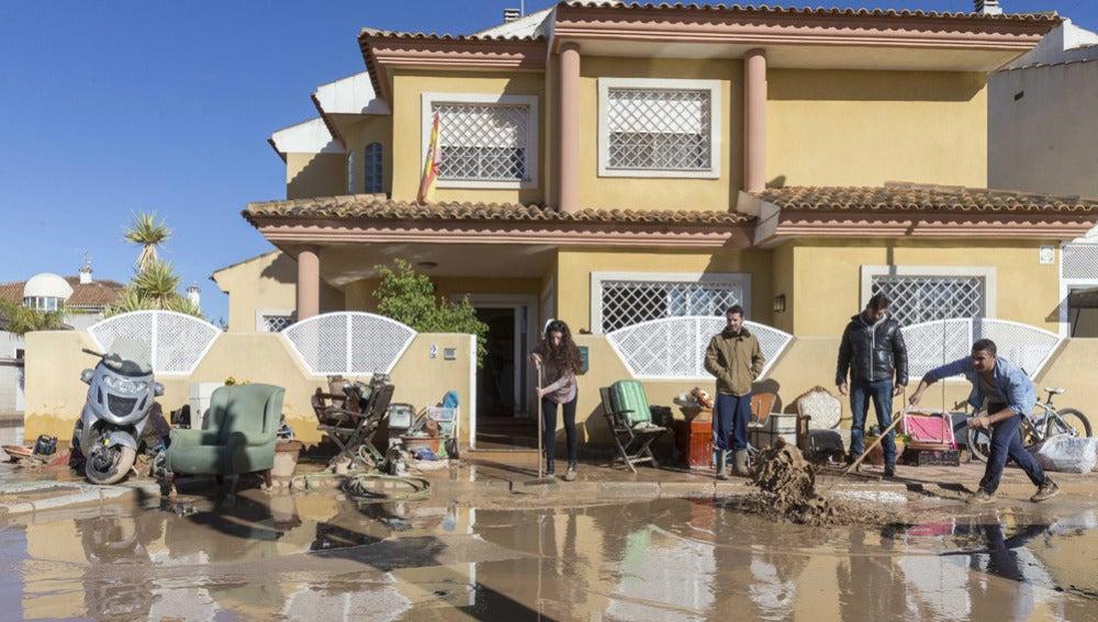 Inundaciones en Los Alcázares, Murcia