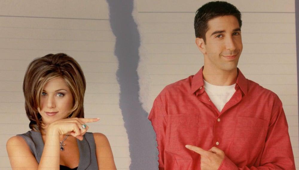 Ahora sí, ahora no. Ross y Rachel son el paradigma de la relación tóxica en televisión, pero, ¿de verdad eso nos cala?