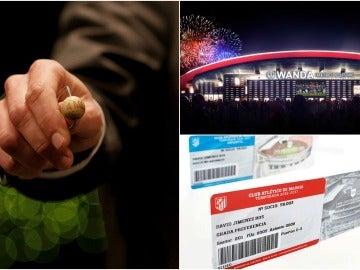 Los socios del Atleti podrán optar a un abono en el Wanda Metropolitano jugando a la Lotería con su número de carné