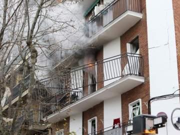 Edificio afectado en Salamanca