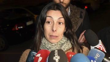 Raquel Gago antes de entrar en prisión