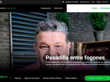 Imagen de la web de Pesadilla en la cocina en laSexta.com