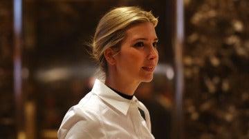 La hija del recién elegido presidente de EEUU, Ivanka Trump