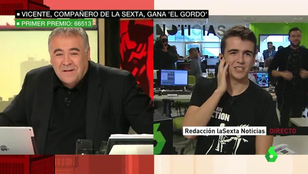 Ferreras le concede el día libre a Vicente Barrionuevo