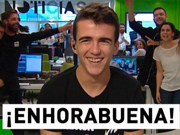 ¡El Gordo de la Lotería le tocó a Vicente Barrionuevo!