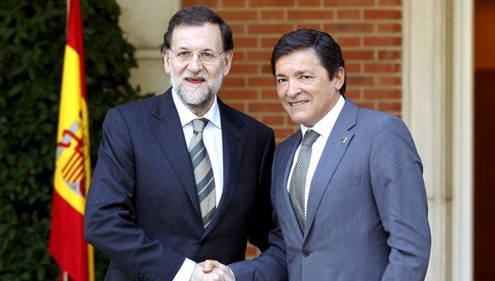 Mariano Rajoy y Javier Fernández