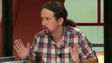 Pablo Iglesias, líder de Podemos, en Al Rojo Vivo