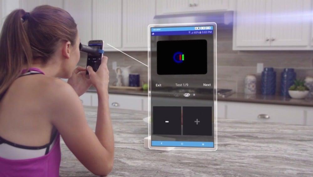 El gadget que te sirve para graduarte la vista