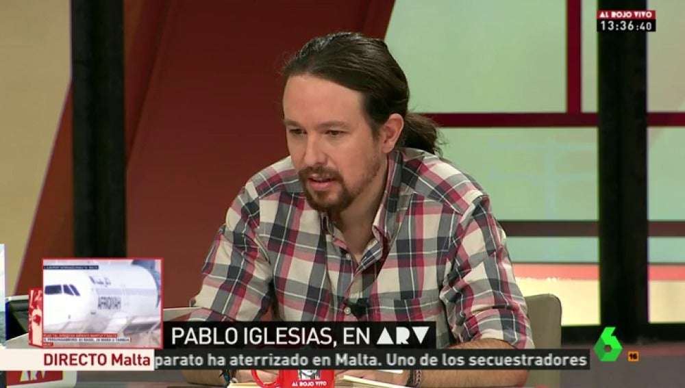 """Frame 10.03019 de: Pablo Iglesias: """"En las dos últimas semanas, Podemos ha dado la peor imagen de su historia"""""""