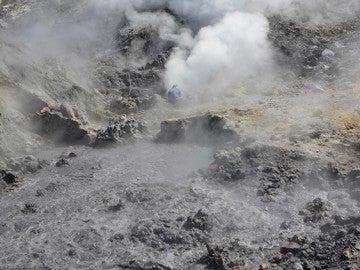 El volcán Campi Flegrei, en Nápoles