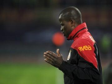 Eboue, en un partido con el Galatasaray