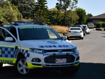 Un coche de la Policía australiana