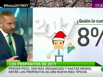 """Frame 64.406602 de: Euprepio Padula: """"Los propósitos de Año Nuevo tienen que ser concretos y ambiciosos, pero realizables"""""""