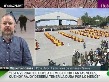 """Frame 46.732229 de: Miguel Sencianes: """"Federico Trillo no puede estar ni un minuto más representando a España"""""""