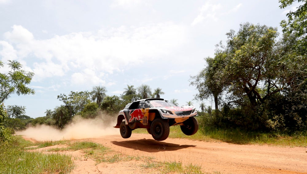 Sebastien Loeb en el Rally Dakar