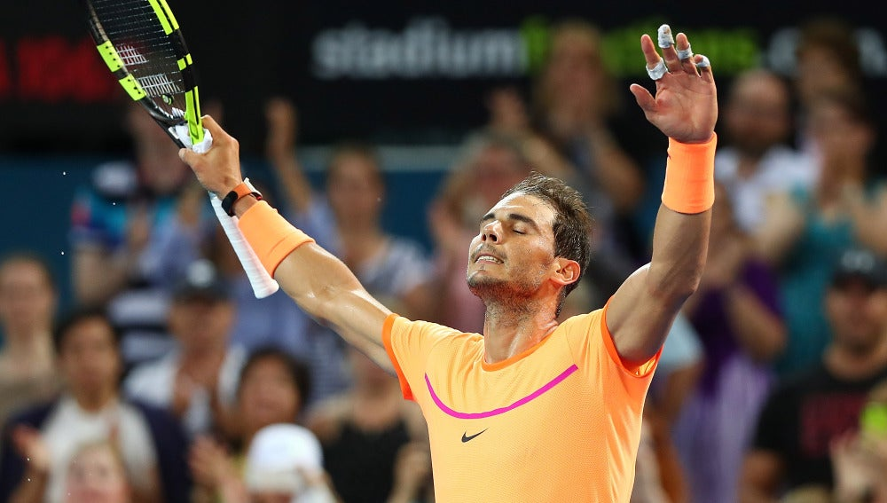 Rafa Nadal, tras debutar con victoria en Brisbane