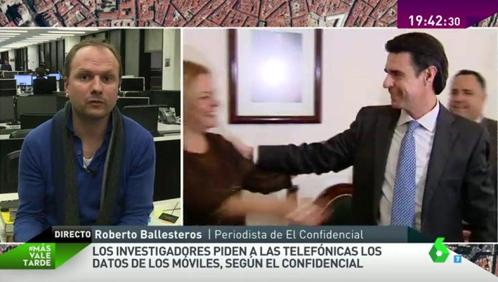 """Frame 217.65707 de: Roberto Ballesteros: """"Las pruebas de ADN son habituales en crímenes importantes, no en este tipo de robos"""""""