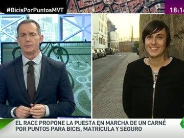 """Frame 1.59292 de: Isabel Porras: """"Nos parece lamentable que se quiera imponer una medida que no sucede en ningún país de Europa"""""""