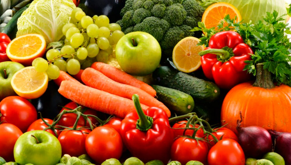 Dieta para bajar de peso con frutas y verduras