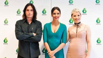 Rafa Méndez, Cristina Pedroche y Soraya Arnelas presentan Tú sí que sí