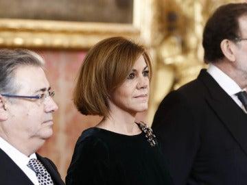 Zoido, Cospedal y Rajoy