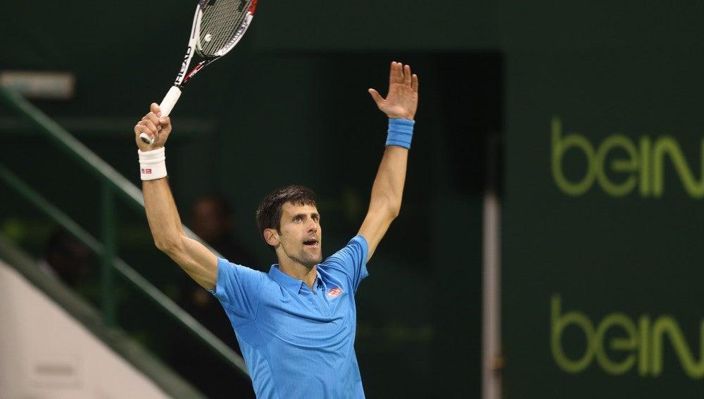 Djokovic durante el partido frente a Verdasco