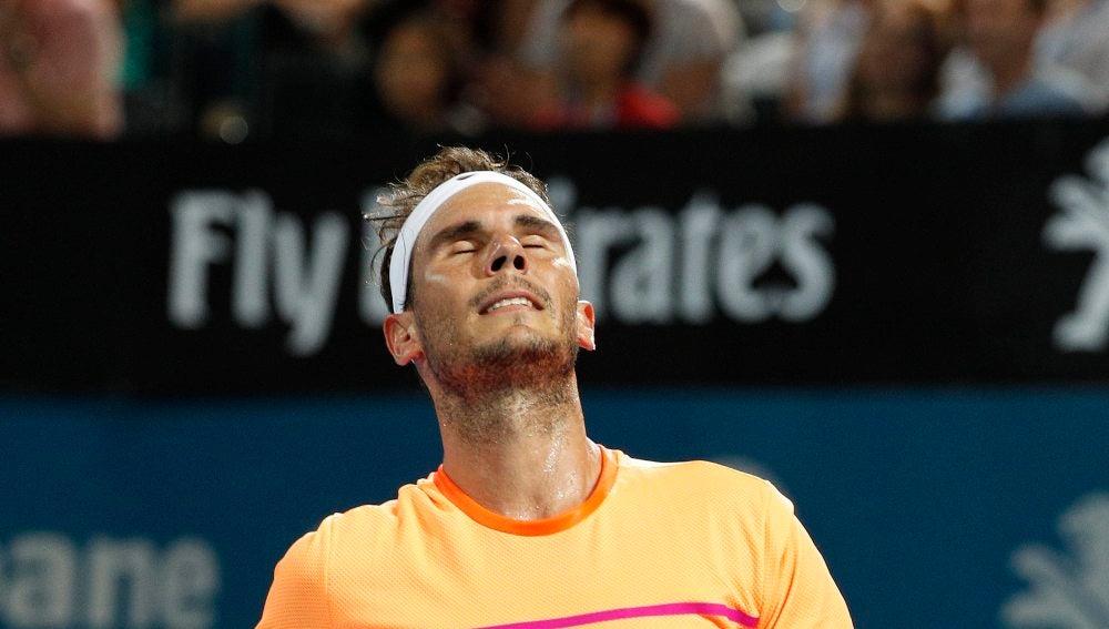Rafa Nadal cae en Brisbane ante Raonic