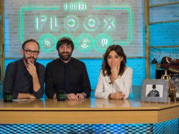La periodista Helena Resano, en el programa 'Lo del Floox Show'