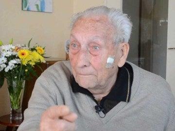 José Alcubierre, superviviente español de Mauthausen