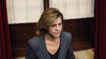 La ministra de Defensa, María Dolores de Cospedal