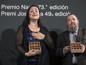La escritora barcelonesa Care Santos gana el 73 Premio Nadal de novela