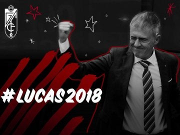 El Granada confirmando la renovación de Lucas Alcaraz