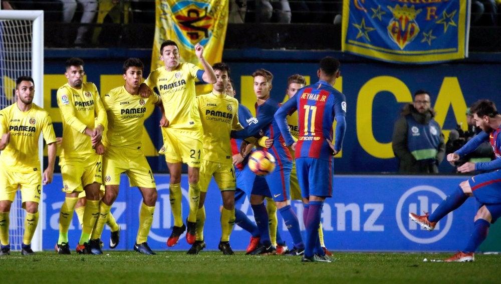 Golazo de falta de Leo Messi