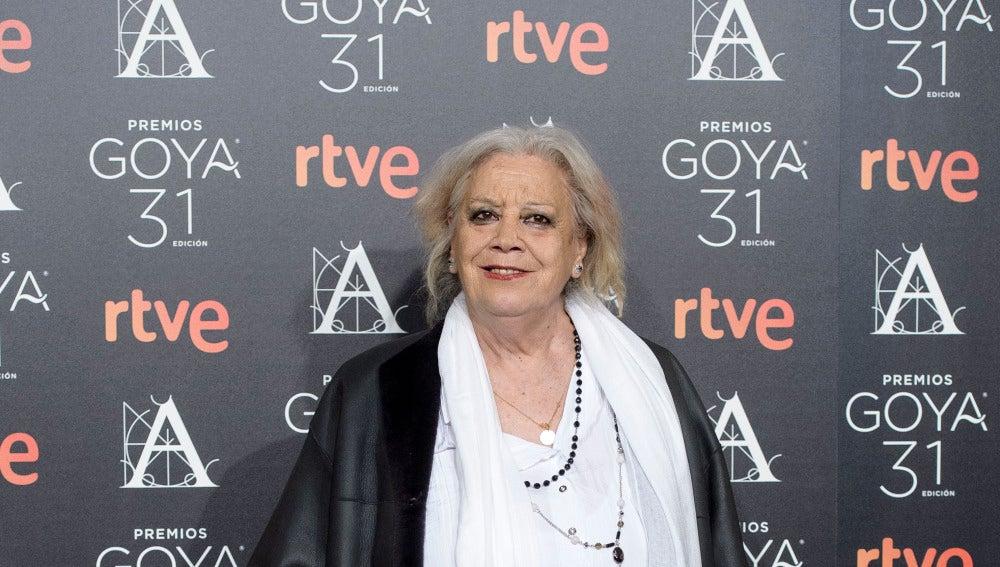 Terele Pávez, nominada a 'Mejor Actriz de Reparto'