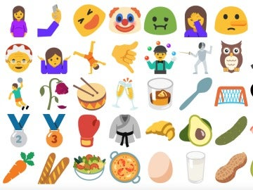 Emojis Android Nougat
