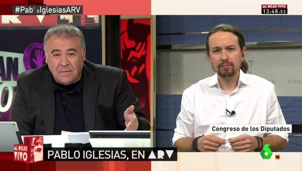 """Frame 14.238115 de: Pablo Iglesias: """"En mi documento para Vistalegre II hay ideas de Carolina, Irene, Errejón, Garzón..."""""""