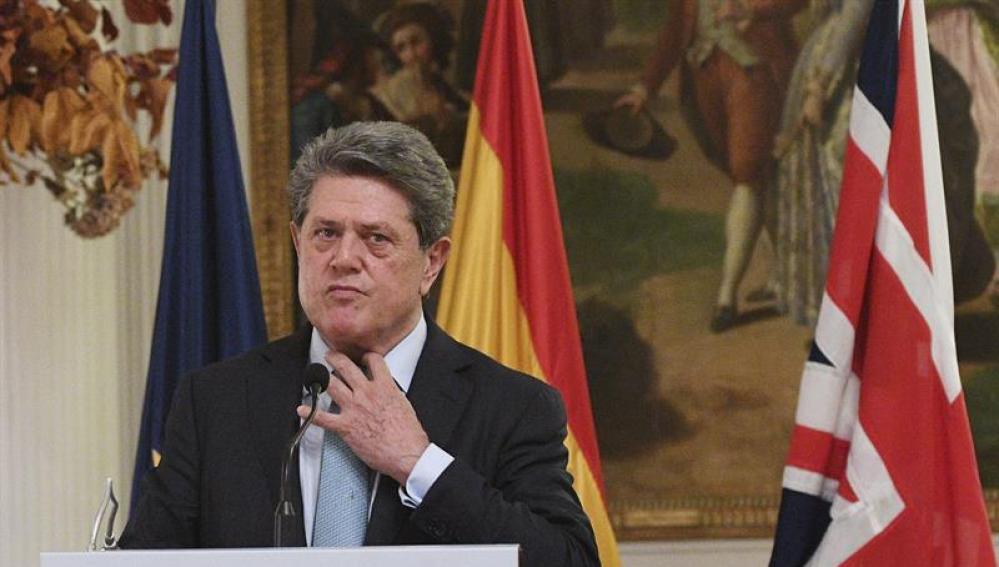 Federico Trillo, exministro de Defensa