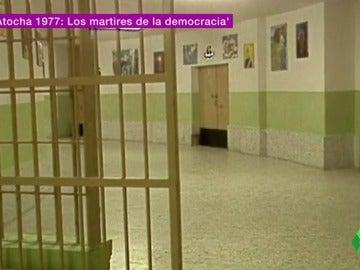 """Frame 56.143355 de: El fanatismo tras la matanza de Atocha que no se vino abajo ni en la cárcel: """"El 24 de enero pedían marisco"""""""