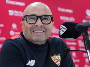 Jorge Sampaoli,entrenador del Sevilla FC