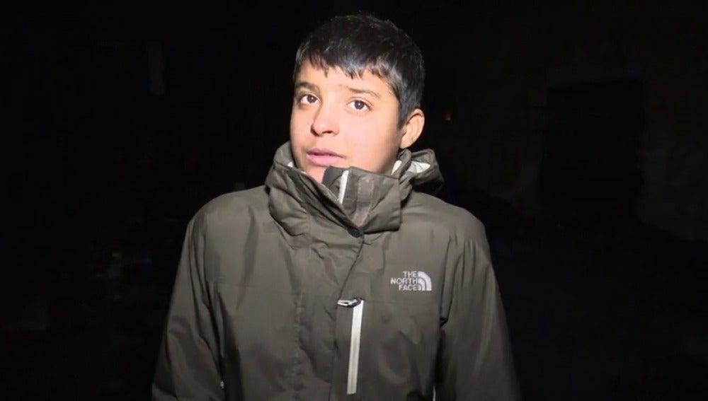 """Frame 58.791724 de: Baset, un refugiado de 11 años atrapado en Belgrado: """"He tenido que hacer frente a muchas dificultades"""""""